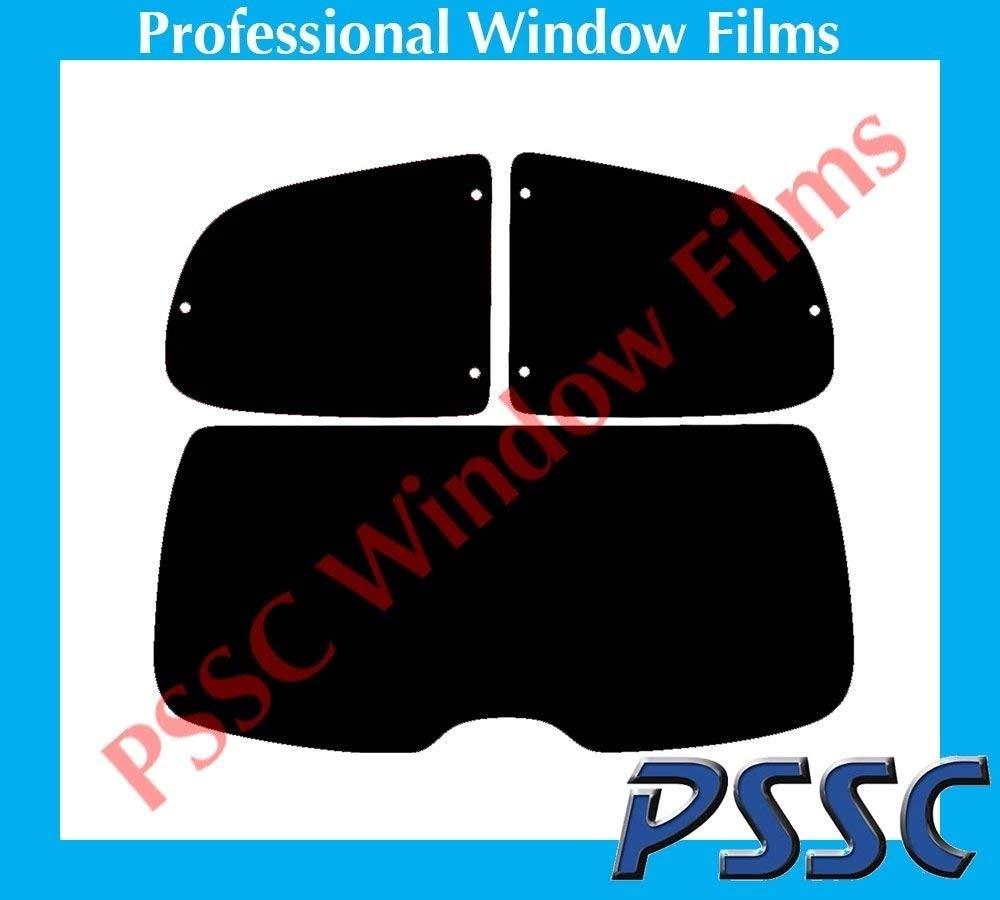 Vauxhall Astra 3 Door Hatch 2004 to 2010 35/% Medium Tint PSSC Pre Cut Rear Car Window Films