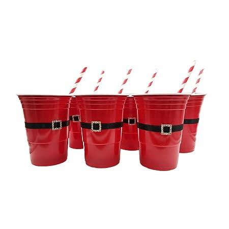 Compra YeahiBaby - Juego de Vasos para Fiestas de Navidad ...
