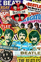 The Beatles: Notebook With 100 Lined Pages