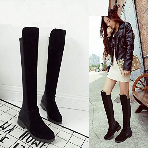 Canister Eu Long 36 Cuisse Loisirs De Des Lady Bas Haute Avec Bottes Deed Chaussures BOAwXnxxSq