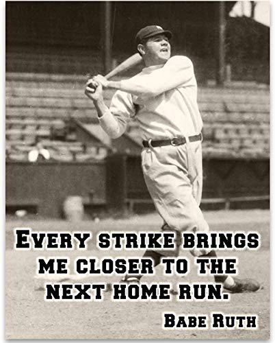 Babe Ruth Strike Unframed Baseball product image