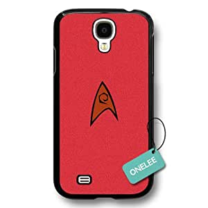 Onelee(TM) - Star Trek Movies Badge Hard Plastic Samsung Galaxy S4 Case & Cover - Star Trek Insignia Samsung Galaxy S4 case - Black 6