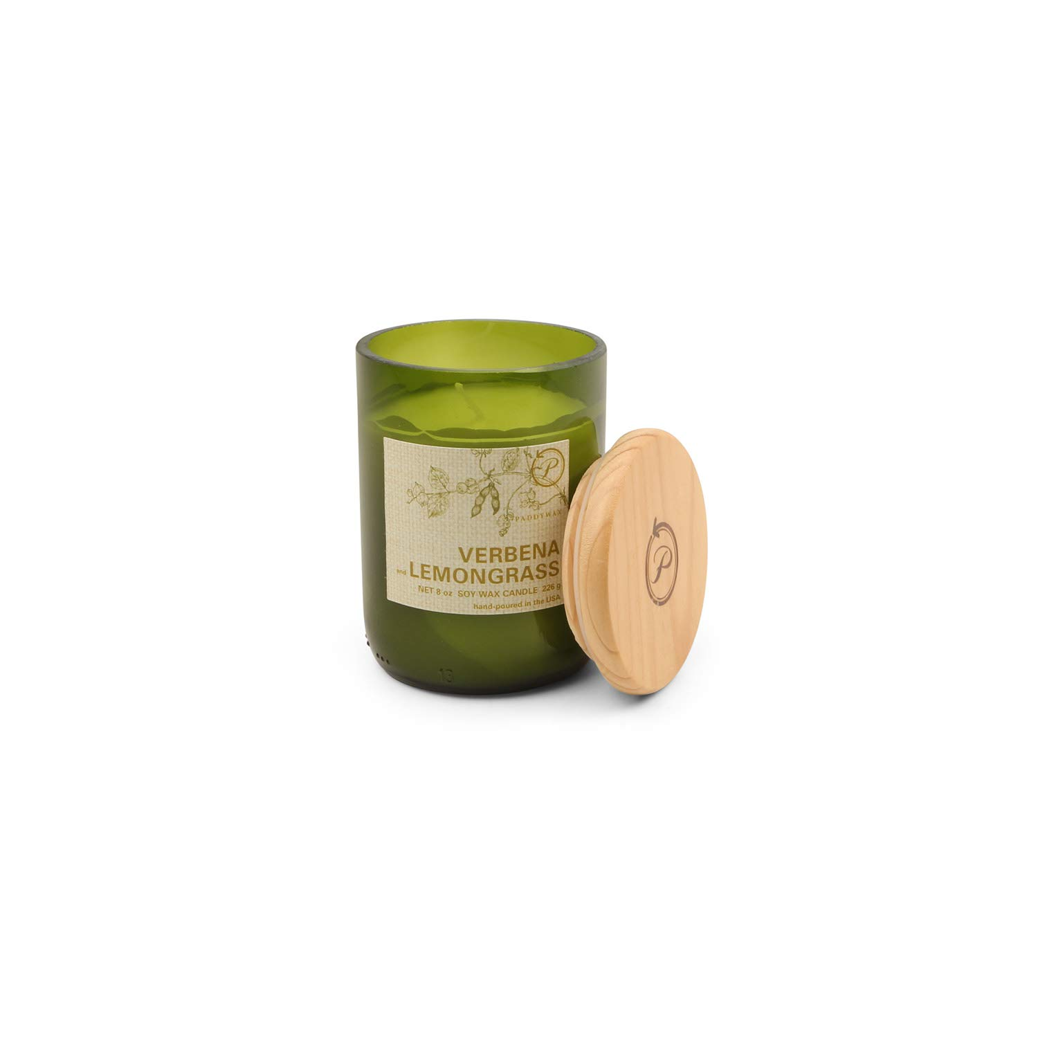 Amazoncom Paddywax Eco Collection Scented Soy Wax Jar Candle 8