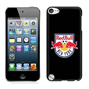 New York Red Bulls 18 Black Case Cover for iPod Touch 5 Grace and Cool Design