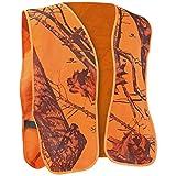 Mossy Oak Safety Vest, One Size, Blaze