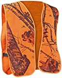 Mossy Oak Safety Vest, One Size, Blaze