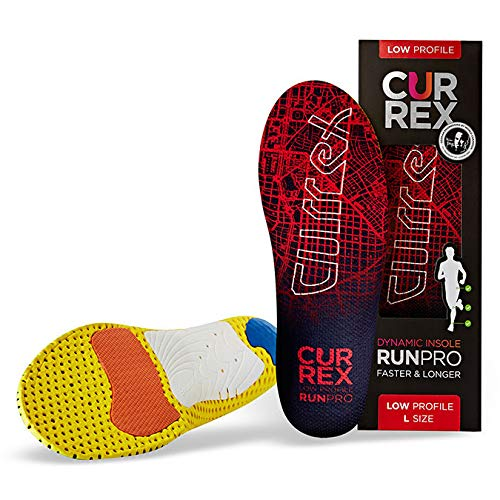 (Currexsole Runpro Insoles - Low Arch Walk Size: M: Women's 8-9.5 / Men's 6.5-8)