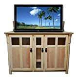 unfinished kitchen corner cabinet - Touchstone 70162 Bungalow Unfinished TV Lift Cabinet
