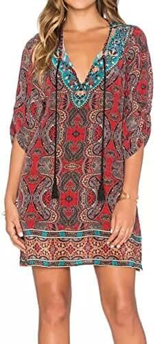 Mixmax Women Flowy Sheer Crop Sleeves Loose Chiffon Kimono Cardigan Blouse Top