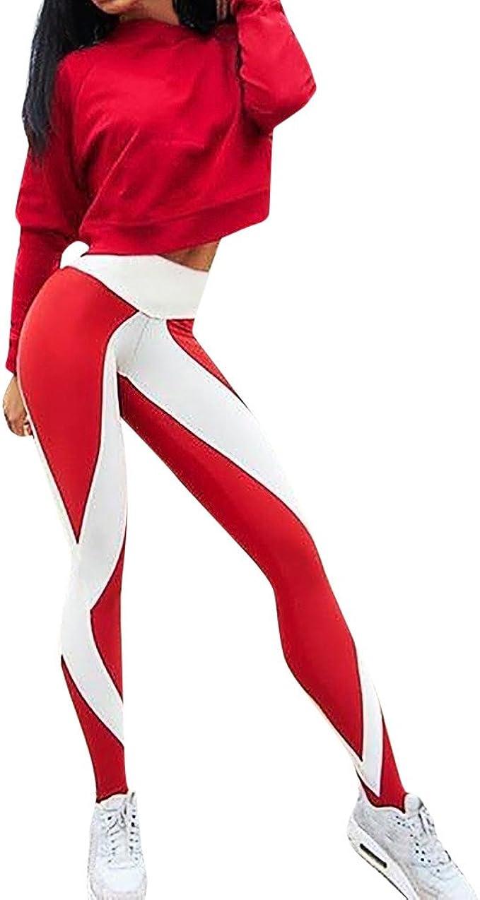Deportivas Mujer Pantalones Yoga Mujeres Fitness Mujer ...