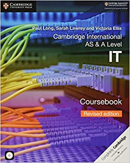 Book's Cover of Cambridge International AS & A Level IT Coursebook with CD-ROM Revised Edition (Anglais) Broché – 20 juin 2019