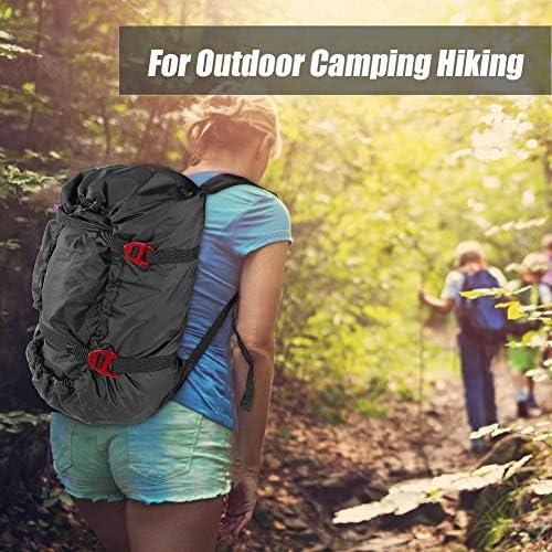 Jadeshay Bolsa de Escalada Rock Climbing Rope Kit Bag Correa de Hombro Plegable para Acampar al Aire Libre Senderismo