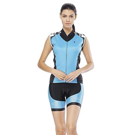YGBH Ciclismo Jersey Conjunto de Mujer Traje MTB Sudadera de ...