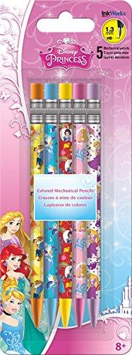 Trends International Disney Princess Colored Mechanical Pencils (5 Pack) ()