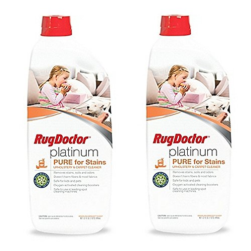Rug Doctor 32 oz. Platinum PURE with Oxy Stain Cleaner (2 pack) by Rug Doctor