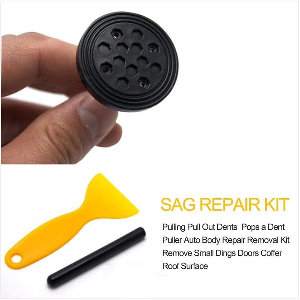 Minor Dent and Deep Dent Removal Professional Car Dent Puller for Auto Body Doors Coffer Roof Surface Dent Removal Auto Body Dent Repair Kit