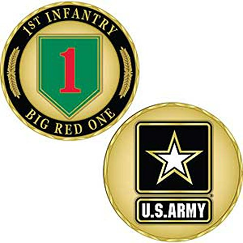 - US Army 1st Infantry Division Challenge Coin