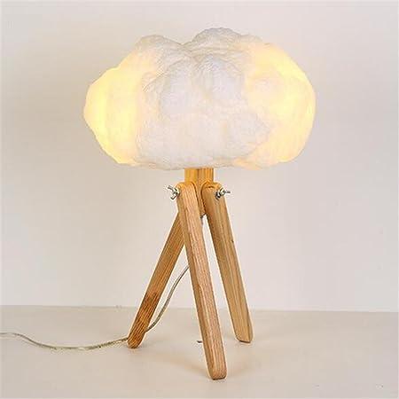 Moderna lámpara de Escritorio del trípode Dormitorio romántico y ...