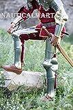 LARP FULL LEG ARMOR RE-ENACMENT SCA ARMOURY MEDIEVAL ARMOR GUARD