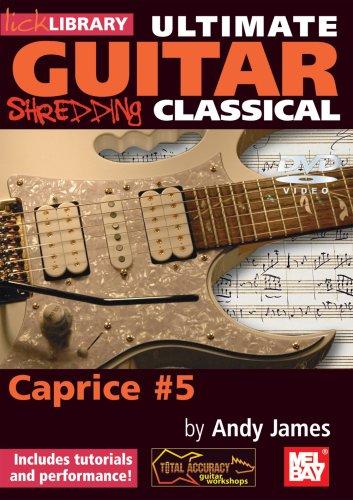 Lick Library: Ultimate Guitar Techniques Shredding Classical ...