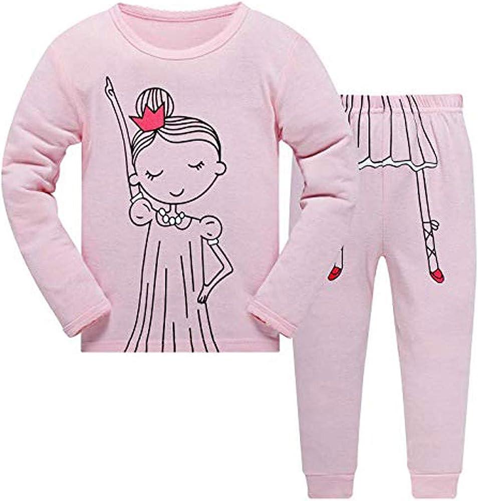 Juego de Pijama de algodón orgánico con Texto en inglés Love Letters, de Manga Larga, para bebé y niña, 2 Piezas Rosa Rosa 7 años: Amazon.es: Ropa y accesorios