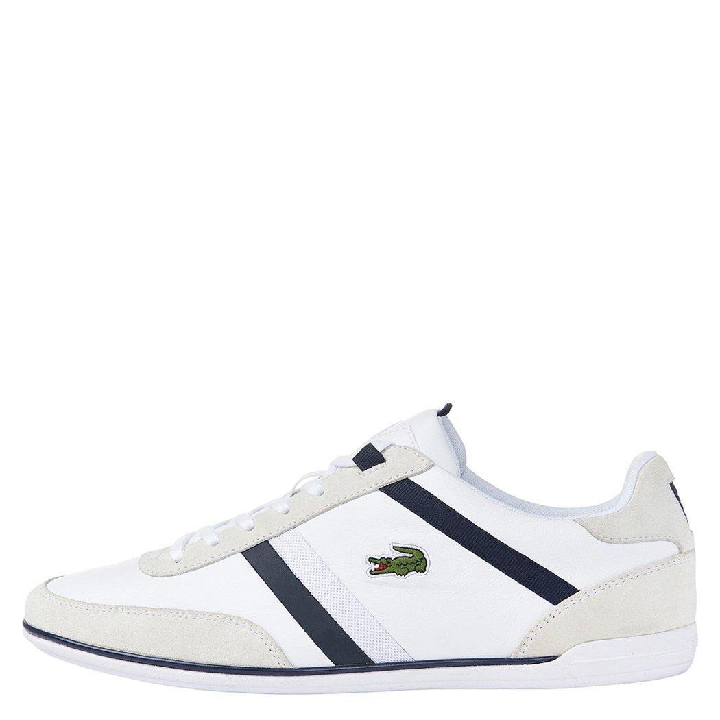 Lacoste Men's Giron 116 1 Fashion Sneaker, White, 11 M US