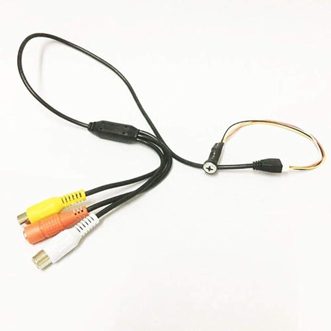 Cámara Con Cable Para Cctv Súper Pequeña Mini Cámara Oculta Nanny 700tvl Camera Photo Amazon Com