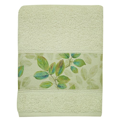 Bacova Guild Hand Towel, Waterfalls Leaves by Bacova Guild