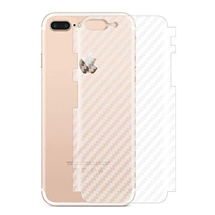 release date: 47a78 68247 iPhone 7/8 Plus Back Skin, Non-slip Clear Carbon Fiber Back Skin Protector  for iPhone 7/8 Plus (2 Pack)