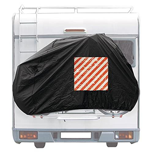 Cartrend 10162 Caravan fietshoes achtermontage 1 stuk fietsbescherming fietshoes camping campingaccessoire caravan…