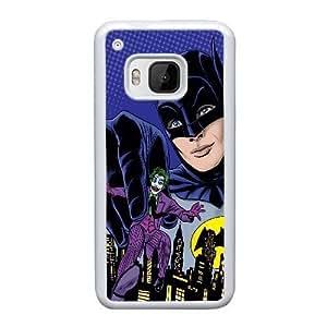 Printed Cover Protector HTC One M9 Cell Phone Case WhiteBatmanCitum Unique Design Cases
