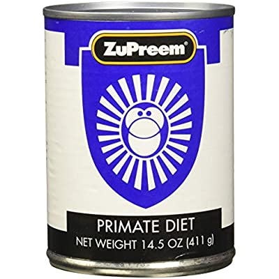 Zupreem 230025 24-Pack Primate Diet Food, 14.5-Ounce