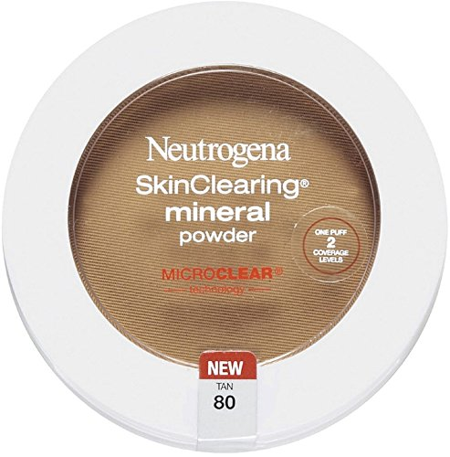 Neutrogena SkinClearing Mineral Powder, Tan80