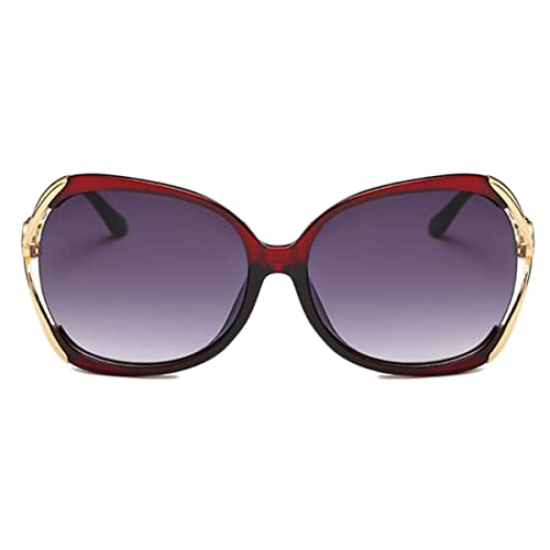 Polarizada Retro Señora Gafas De Sol De Conducción Multicolor