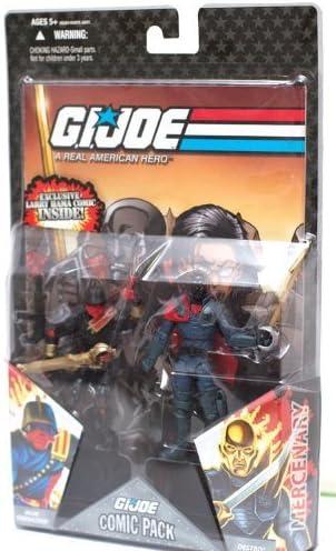 Joe 25th Cobra Destro Iron Grenadier V16 Figure Complete G.I