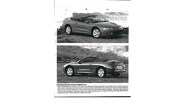 Vintage Photos Prensa fotográfico Mitsubishi Eclipse Spyder GS-T, convertible Soft-Top. - mjb52471: Amazon.es: Hogar