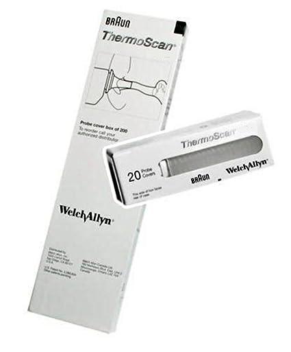 60x Braun Objetivo Filtros Para ThermoScan Oído Termómetros