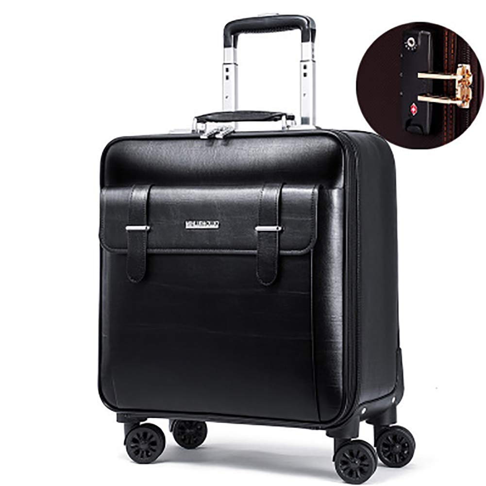 トロリーケース - サイレントユニバーサルホイール - 盗難防止 - ABS素材スーツケース - ウェアラブル防水および耐震性スーツケース,2,16in B07MXC9WPM 2 16in