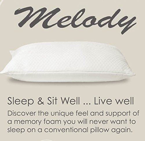 Impressions Memory Foam Pillow (Special Luxury Memory Foam Pillow [ Medium to Firm Support ] - Standard/Queen Size - 28 x 18 inches)