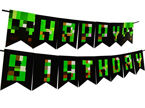 Decoration Birthday Banner Supplies Bunting