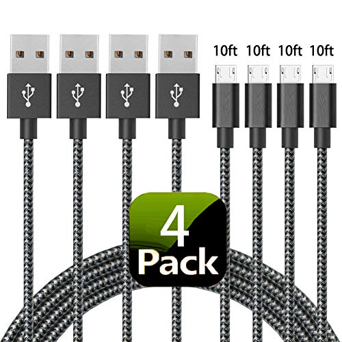 Ahker Micro USB Cable,  Premium Nylon Braided High Speed USB