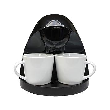 Aislamiento de hogar por goteo automático máquina de café máquina de té americano, negro blanco
