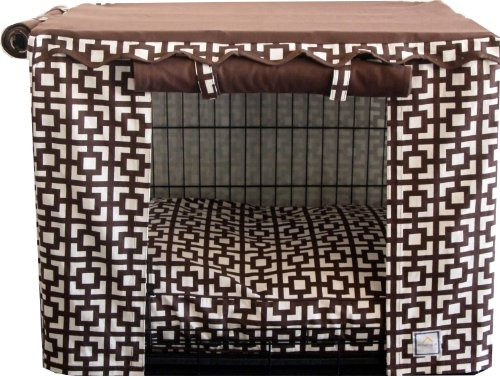 (BowhausNYC Lattice Crate Cover, Small)