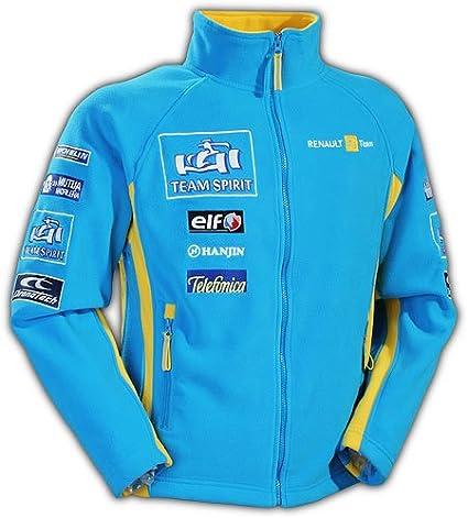 Renault F1 Sponsor Team Fleece Jacket Size M Sport Freizeit