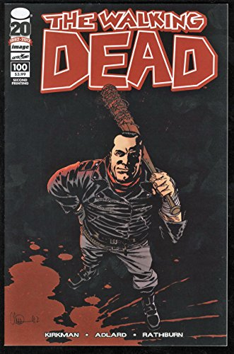 Walking Dead #100 NM W Pages 2nd Print Negan Variant