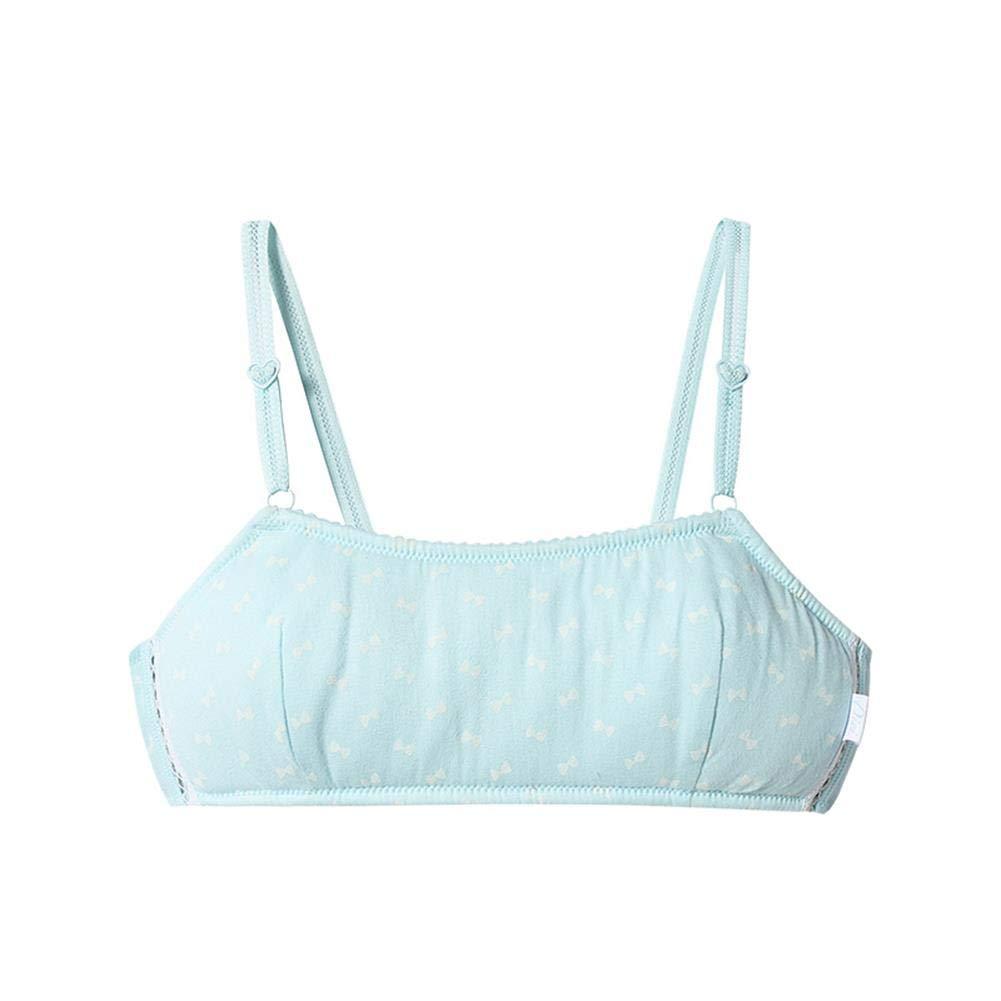 ThreegunKids Girls Adjustable Training Bra Ladies A Cup Bra Comfortable Bralette First Bra for Puberty Girls