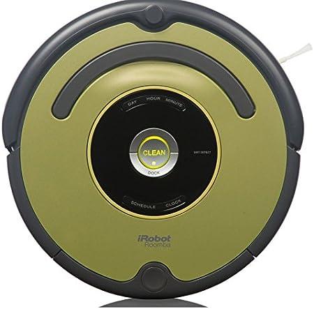 iRobot Roomba 661 Sin bolsa 0.46L Negro, Verde aspiradora robotizada - Aspiradoras robotizadas (Sin bolsa, Negro, Verde, Alrededor, 0,46 L, 33 W): Amazon.es: Hogar