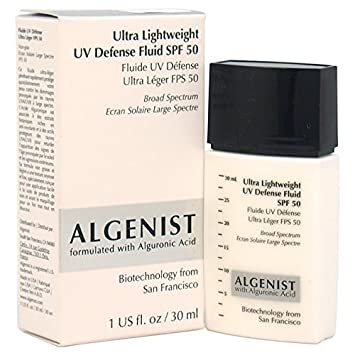 Algenist Ultra Lightweight UV Defense Fluid SPF 50 for Women, 1 Ounce