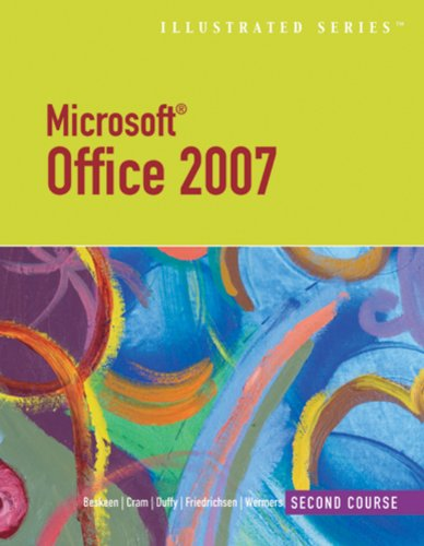 Download Microsoft Office 2007-Illustrated Second Course (Available Titles Skills Assessment Manager (SAM) – Office 2007) Pdf