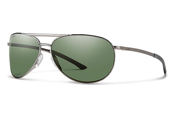 fde751977ee Smith Serpico Slim 2.0 Sunglasses - Men s-Gunmetal-Polarized Gray Green